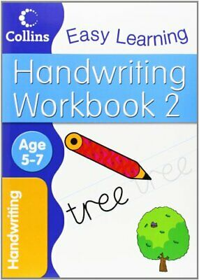 Handwriting Workbook 2: Age 5-7 (Collins Ea... by Collins Easy Learnin Paperback