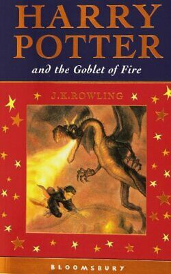 Harry Potter and the Goblet of Fire (Celebratory Edi by J. K. Rowling 0747582386