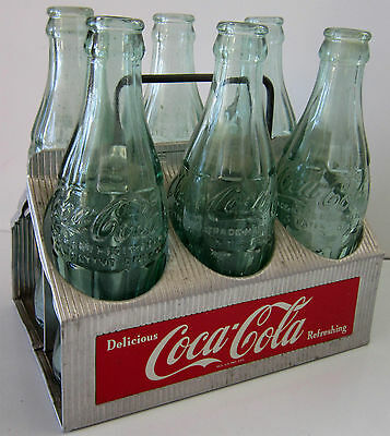 Original Aluminum Coca-Cola Six Pack Carrier Circa 1950 (video)