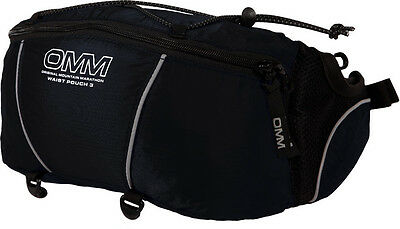 OMM Waist Pouch 3 On The Move Access, 3.5L, Compression Elastic, Modular RRP £27