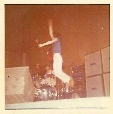 Original Pete Townsend & Keith Moon (The Who) Concert Photograph's (Lot of 2)