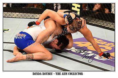* Ronda Rousey, Large Signed Autograph Poster, Looks Great On The Wall!!!!!