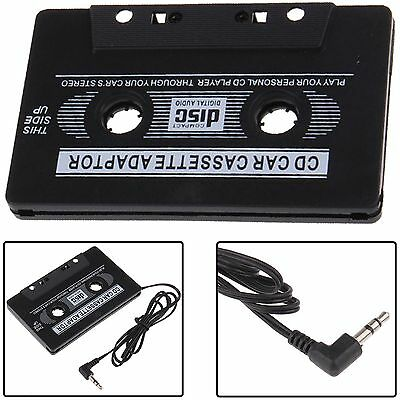 UK New Car Audio Tape Cassette to Jack AUX for iPod MP3 iPhone 3.5mm Connector