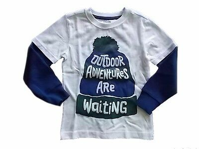 NWT Boy's Gymboree All Spruced Up hat long sleeve shirt ~ 4 7 FREE SHIPPING!