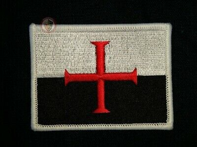 Knights Templar Embroided Crusader patch cloth embroidery
