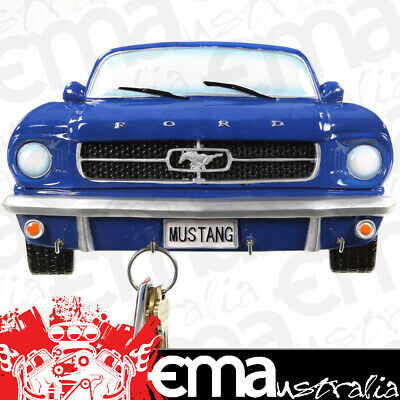 "1964 1/2 FORD MUSTANG KEY RACK SBL752075 BLUE 8""W x 5""H"