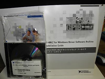 National Instruments NI-488.2 For windows, Driver Software Archive.