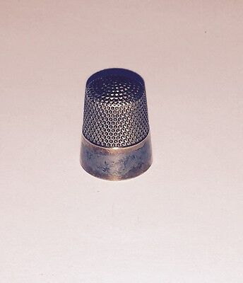 Antique Ketcham Macdougall #10 Sterling Thimble