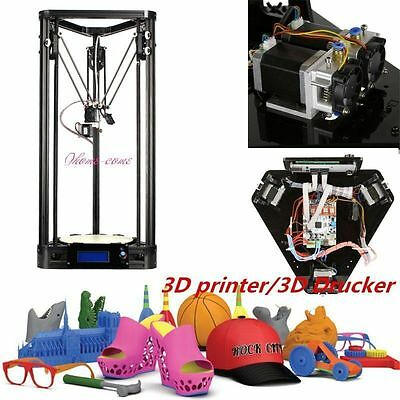 NEW Kossel Delta Rostock G2s one Extruder 3D-Drucker Support Auto Level T$