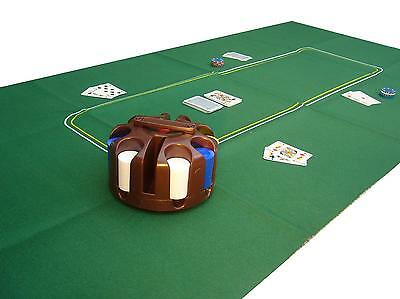 Huge Poker Felt / Baize / Layout - 6ft by 3ft. Brand new and Sealed
