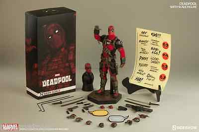 MARVEL X-MEN Deadpool Sixth Scale Action Figure By Sideshow Collectible 30cm