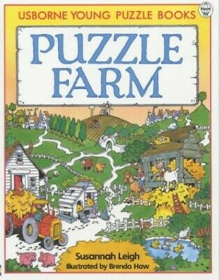 Puzzle Farm (Young Puzzles) by Leigh, Susannah Paperback Book The Cheap Fast
