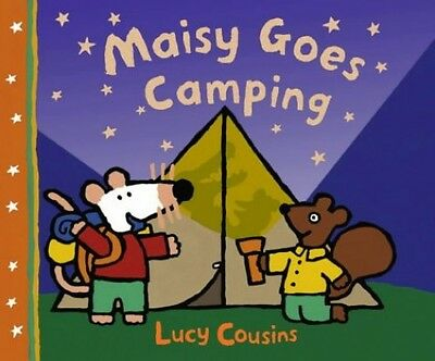 Maisy Goes Camping, Cousins, Lucy Paperback Book The Cheap Fast Free Post