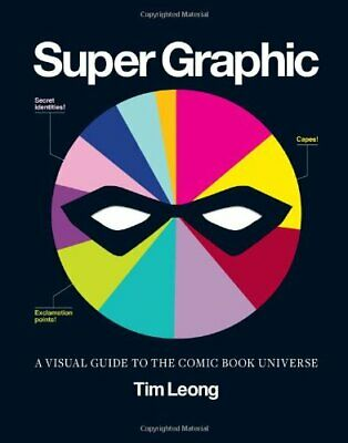 Super Graphic: A Visual Guide to the Comic Book Universe by Tim Leong Book The