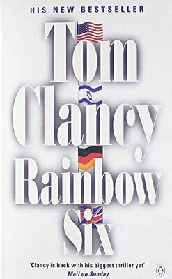 Rainbow Six by Clancy, Tom Paperback Book The Cheap Fast Free Post