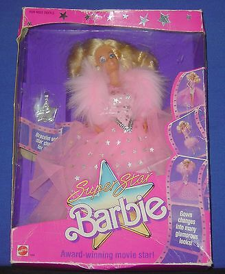 Barbie Superstar 1988 Doll (#1604) - Pre-owned (LdR)