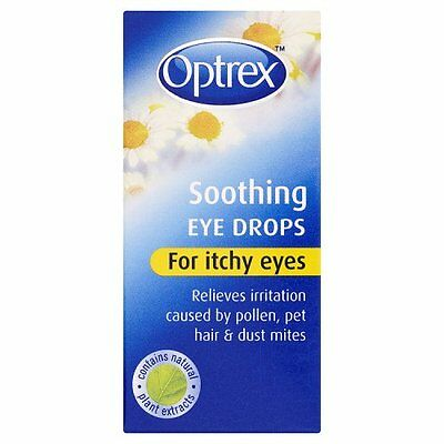 Optrex Soothing Eye Drops For Itchy Eyes - 10Ml *