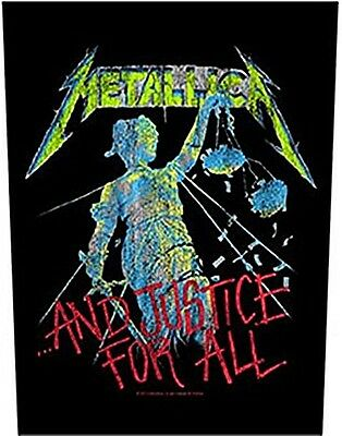Metallica And Justice For All giant sew-on backpatch  340mm x 290mm (ro)