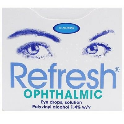 Refresh Ophthalmic Lubricating Comfort Eye Drops - 30 Unit-Dose Vials X 0.4Ml