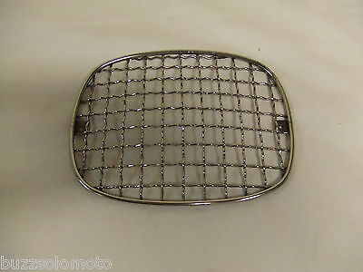 Headlight Stoneguard Grill in Stainless Steel to fit Lambretta GP