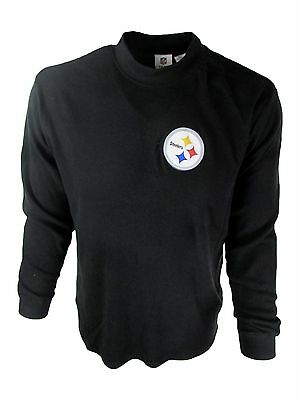 Pittsburgh Steelers Men's 2XL - 8XL Big & Tall Mock Neck LS Shirt NFL A16BX