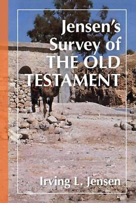 Jensen's Survey Of The Old Testament - New Hardcover Book