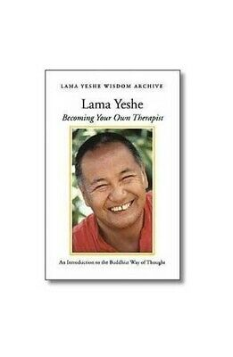 Becoming Your Own Therapist by Lama Yeshe Book The Cheap Fast Free Post