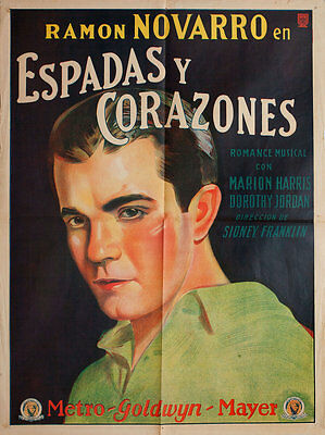 Devil-May-Care 1929 Argentine Poster