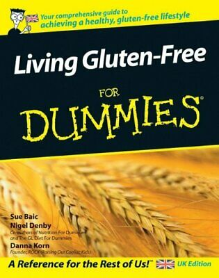 Living Gluten Free for Dummies (UK Edition) by Korn, Danna Paperback Book The