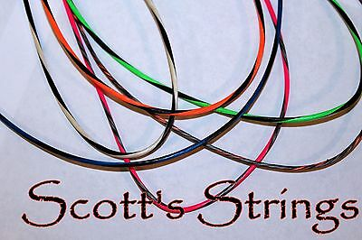 New bow strings made for ANY bow when U Order Very Fast Stretched Ready to Shoot