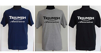TRIUMPH AMERICA motorcycle t-shirt