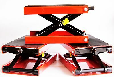 EPC Wide 1000 Lb Motorcycle Scissor Center Jack Cycle Lift Harley / Metric