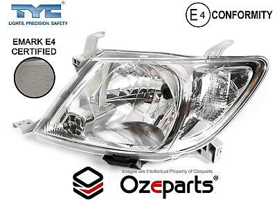 LH LHS Left Hand Head Light Lamp For Toyota Hilux Ute 2008~2012 2WD / 4WD