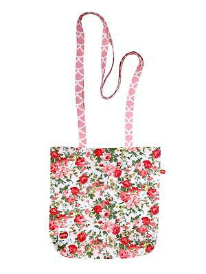 Pink Roses Small Tote
