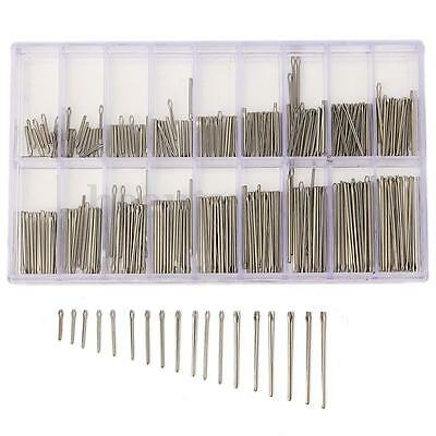 360Pcs 8-25mm Stainless Steel Watch Band Link Cotter Pins Tool Set Watchmaker