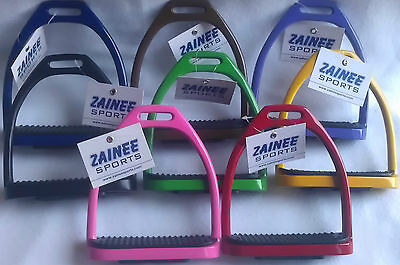 Stirrups Irons Stainless Steel Horse Riding Beautiful 8 Colors With Free Gift