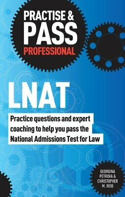 Practise & Pass Professional: LNAT by Petrova, Georgina Book The Cheap Fast Free