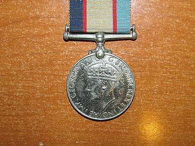 WW2 Australia Service Medal 1939-1945 named OFFICER RANVR