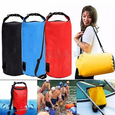 10L Waterproof Storage Dry Bag for Hiking Swimming Sports Canoeing Outdoor Camp