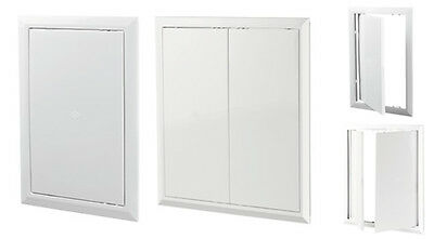 Access Panels Inspection Loft Hatch Access Door WHITE High Quality ABS Plastic