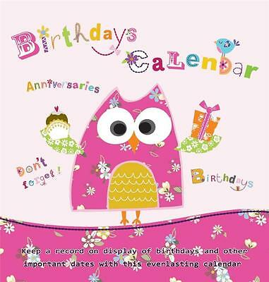 Everlasting Birthday Calendar -Great gift for friends(who forget) Birthday Xmas