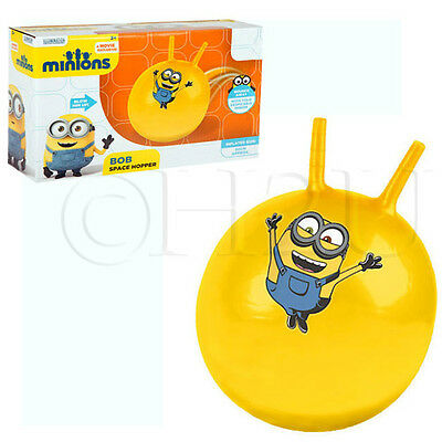 Bob Despicable Me Minions Space Hopper Bouncer Jumper Hopping Kids Outdoor Gift