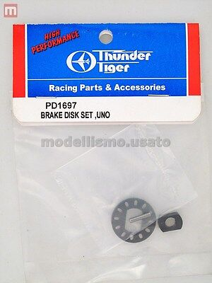 Thunder Tiger PD1697 Disco Freno Uno Brake Disk Set modellismo