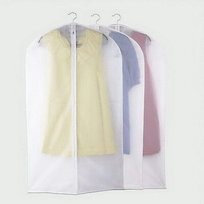 Garment Suit Dress Jacket Clothes Coat Dustproof Cover Protector Travel Bag PY