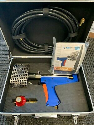 NEW Dr Shrink Rapid Shrink Wrap Heat Gun Tool Kit  propane boat DSRS100 RS100