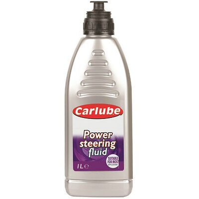 Carlube Power Steering Fluid Synthetic Oil Based Hydraulic Lubricant 1 Litre