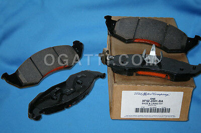 LINCOLN BRAKE PADS BRAND NEW OEM FRONT BRAKE PADS LINCOLN 1999-05 # XW4Z-2001-AA