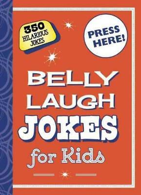 Belly Laugh Jokes For Kids - New Hardcover Book
