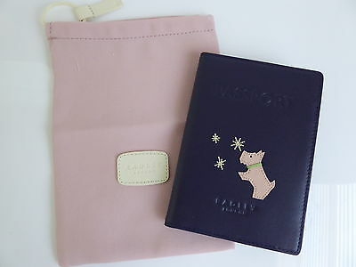 Radley Lucky Stars Passport Cover BNWT RRP £35 With Dust Bag