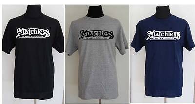 MATCHLESS motorcycle t-shirt